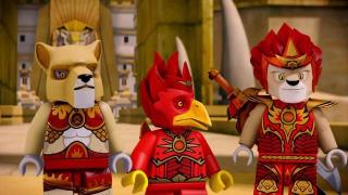Lego Legends of Chima (7) - Lumisotasilla
