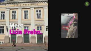 Getting around Pori with Licia Prehn, who is blind (S): 20.04.2018 12.47