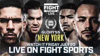 FIGHT SPORTS LIVE: Glory 55 - Glory 55, 20.7.