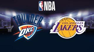 Oklahoma City Thunder - Los Angeles Lakers - Oklahoma City Thunder - Los Angeles Lakers 17.1.