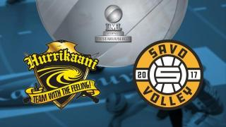 Hurrikaani - Savo Volley, 1. pronssiottelu - Hurrikaani - Savo Volley, 1. pronssiottelu 2.4.